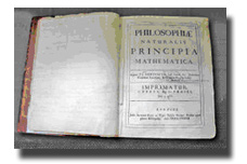 Newton's Principia:  Click here to view a close-up image.
